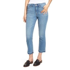 J. Crew Billie Demi Boot Crop Jeans Size 23